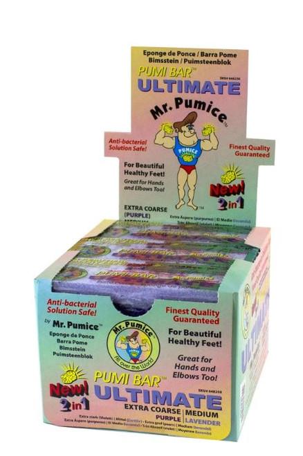 Mr. Pumice - Ultimate Pumi Bar Extra Coarse | Medium 12 pcs/pack