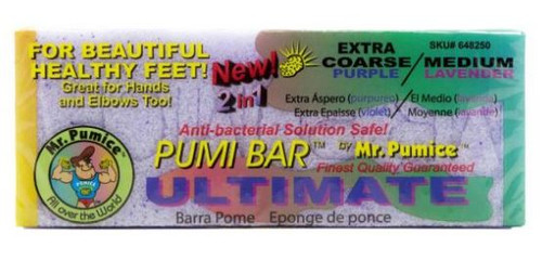 Mr. Pumice - Ultimate Pumi Bar Extra Coarse | Medium 12 pcs/pack