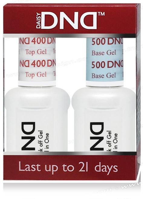 DND DUO - Base Gel  D 500 & Top Gel D 400