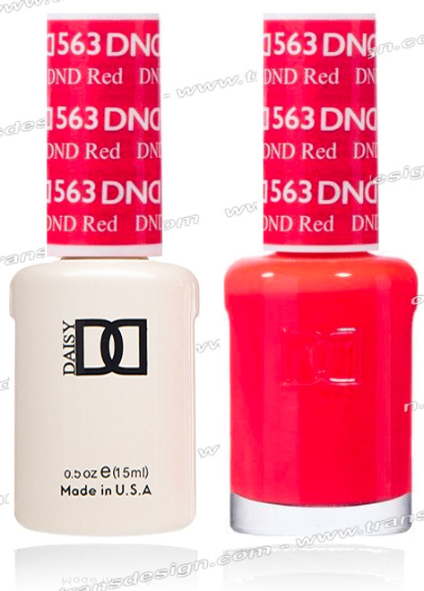 DND Gel Duo - DND Red #563