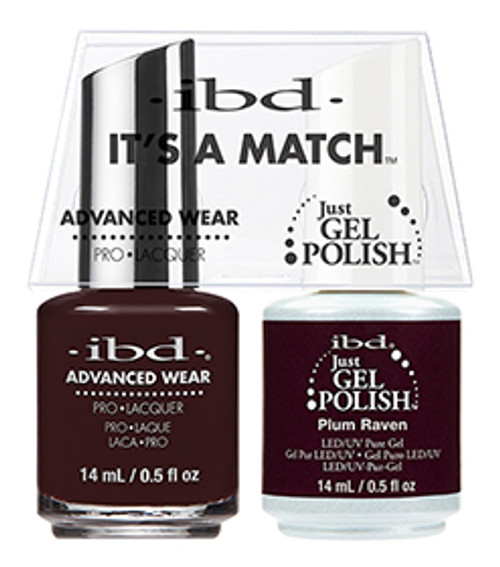 IBD-It's a Match Duos Plum Raven