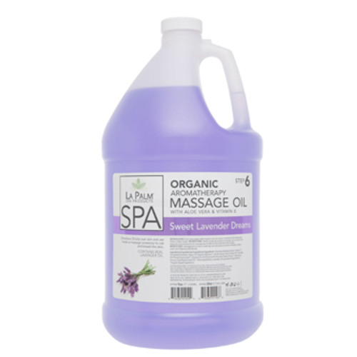 La Palm - Organic Massage Oil - Sweet Lavender Dreams