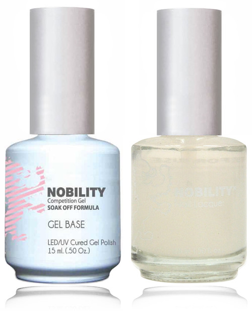 LECHAT NOBILITY - Gel Polish & Nail Lacquer Set - Base Coat