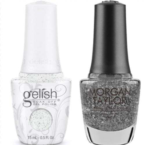 HARMONY GELISH Gel & Polish - Silver In My Stocking  0.5oz. 2/Pack *