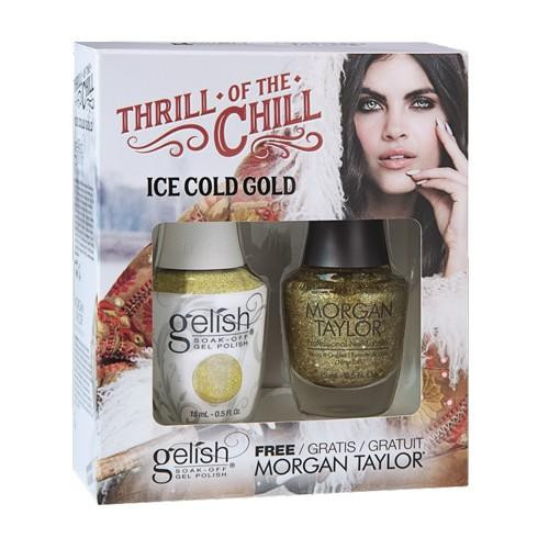 Harmony Gelish -  Ice Cold Gold 2/Pack