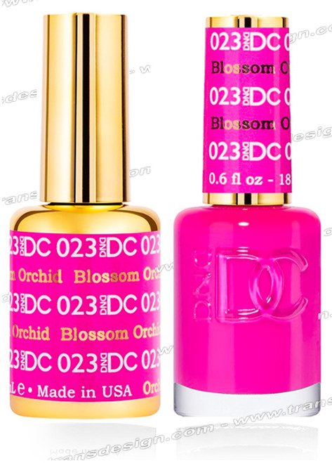 DND DC Duo Gel Polish – Blossom Orchid