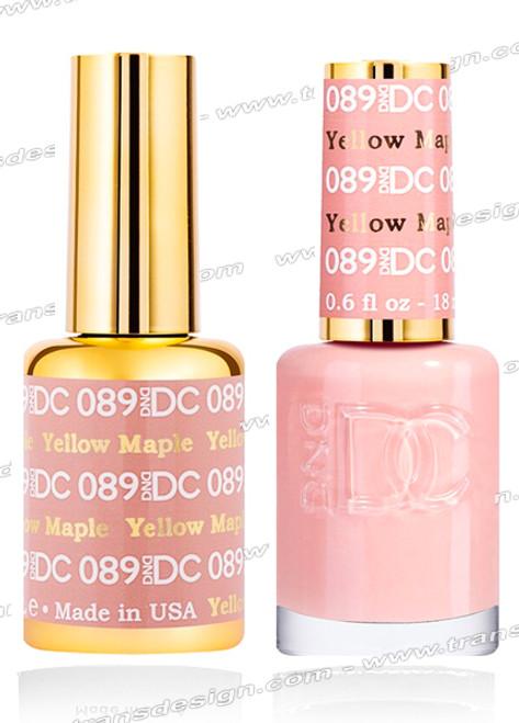 DND DC Duo Gel Polish – Yellow Maple