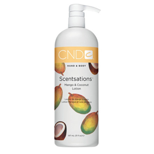 CND Lotion - Mango & Coconut Lotion 31oz