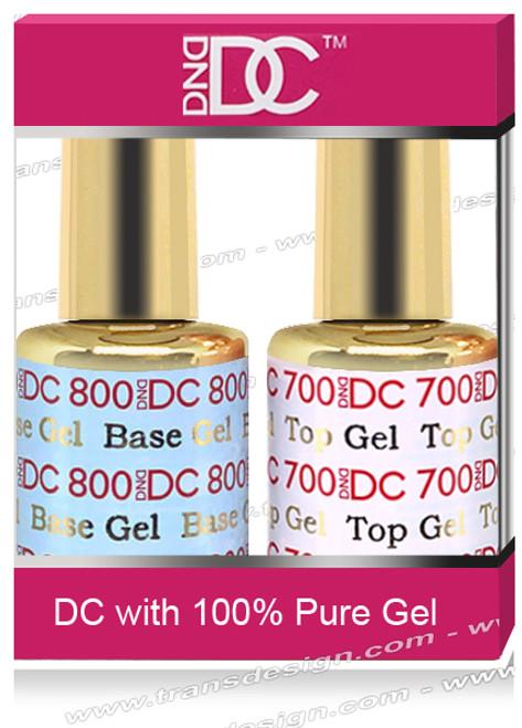 DND DC Duo - Base Gel  DC800 & Top Gel DC700