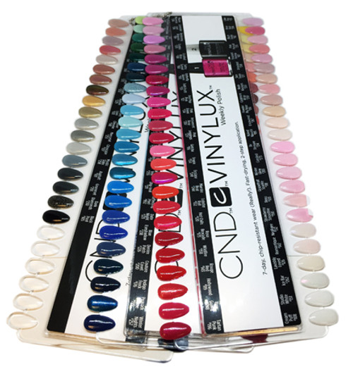 CND-Vinylux Nail Lacquer Color Chart 138/Display