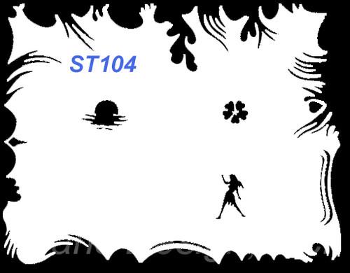Stencil ST104