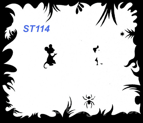 Stencil ST114