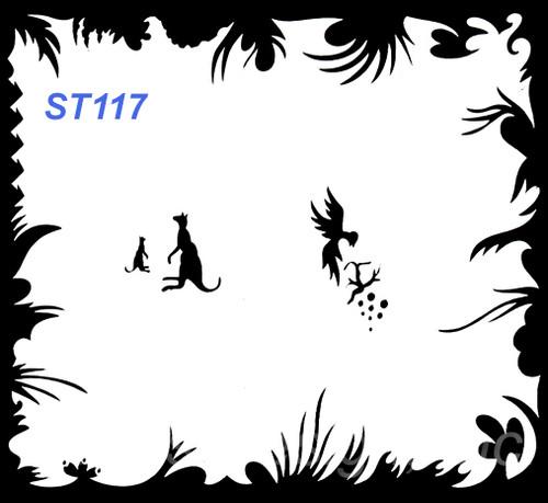 Stencil ST117
