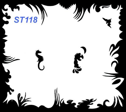 Stencil ST118