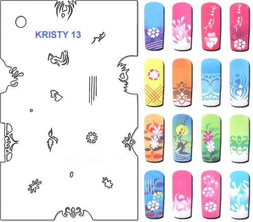 Stencil Kristy K13