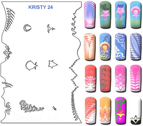 Stencil Kristy K24
