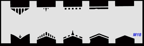 Stencil French M18