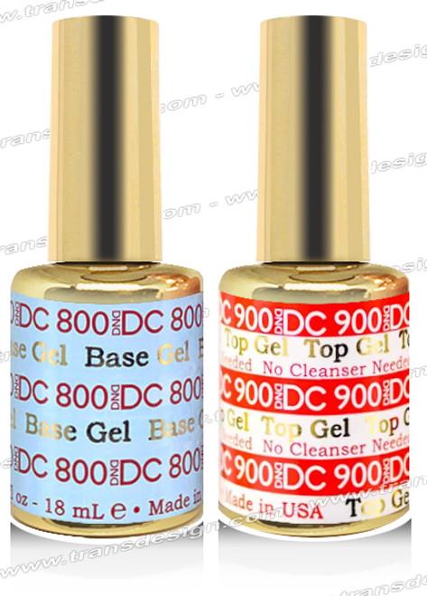 DND DC DUO - Base Gel  DC800 & Top Gel DC900