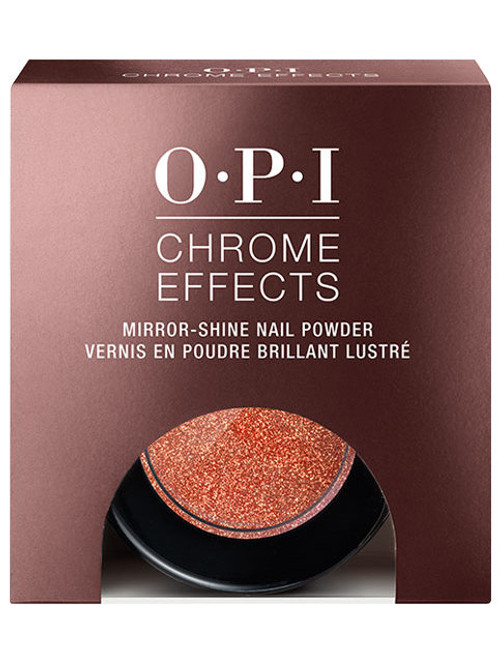 OPI Chrome Effects Mirror-Shine Nail Powder Great Copper Tunity 3g.#13596