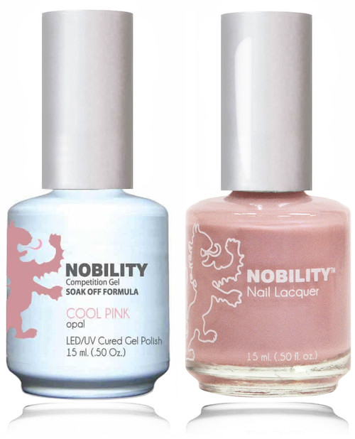 LECHAT NOBILITY Gel Polish & Nail Lacquer Set - Cool Pink