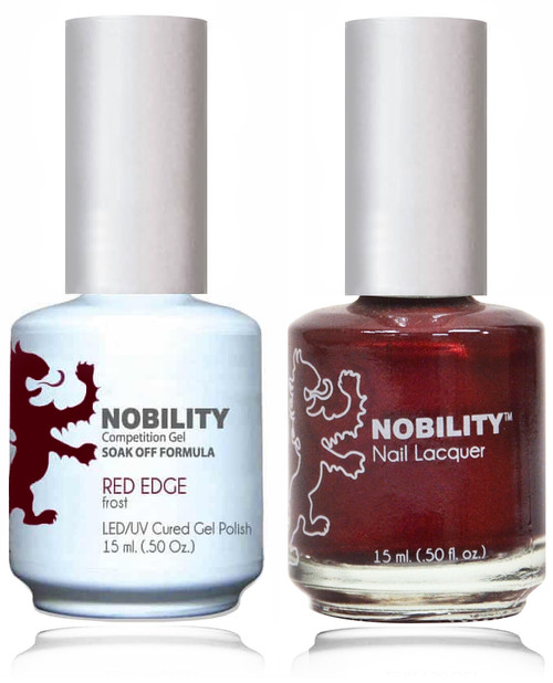 LECHAT NOBILITY Gel Polish & Nail Lacquer Set - Red Edge