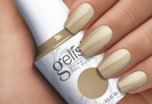 GELISH-Gilded in Gold 0.5oz