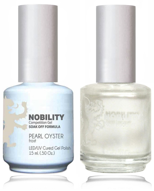 LECHAT NOBILITY - Gel Polish & Nail Lacquer Set - Pearl Oyster