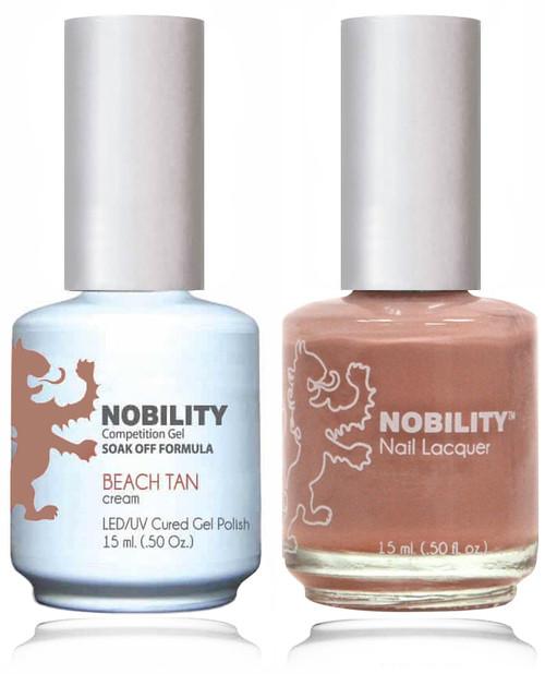 LECHAT NOBILITY Gel Polish & Nail Lacquer Set - Beach Tan