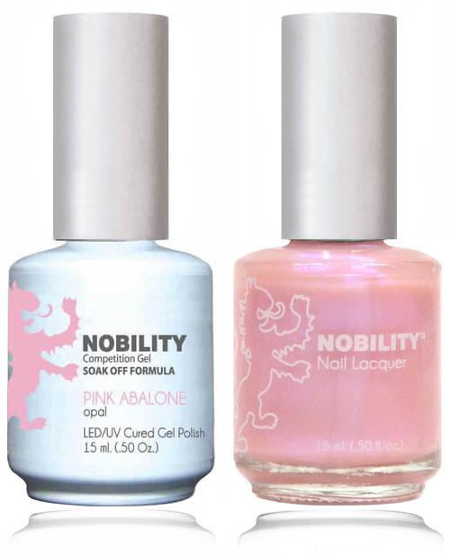 LECHAT NOBILITY Gel Polish & Nail Lacquer Set - Pink Abalone