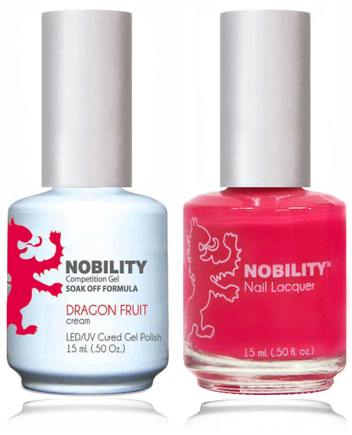 LECHAT NOBILITY Gel Polish & Nail Lacquer Set - Dragon Fruit