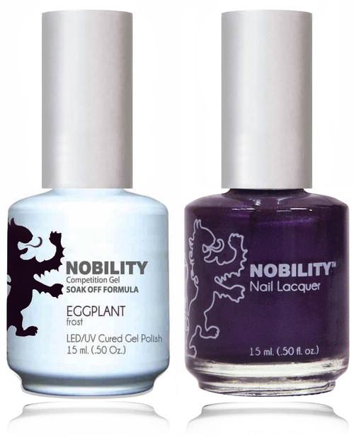 LECHAT NOBILITY - Gel Polish & Nail Lacquer Set -eggplant