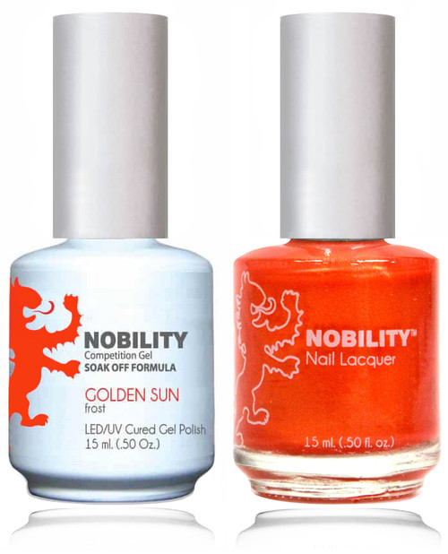 LECHAT NOBILITY Gel Polish & Nail Lacquer Set - Golden Sun