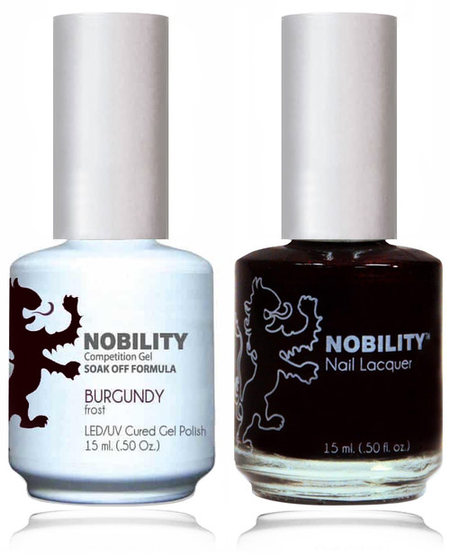LECHAT NOBILITY Gel Polish & Nail Lacquer Set - Burgundy