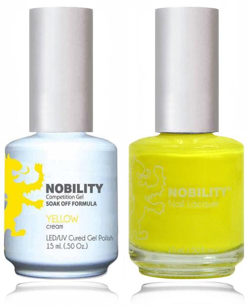 LECHAT NOBILITY Gel Polish & Nail Lacquer Set - Yellow