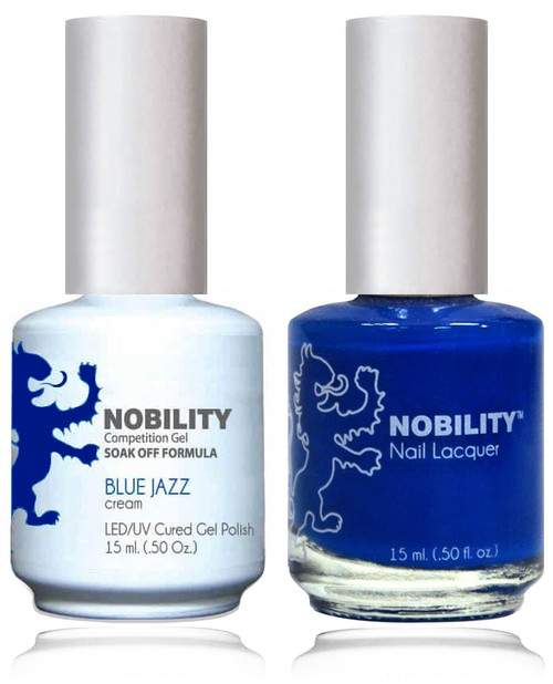 LECHAT NOBILITY Gel Polish & Nail Lacquer Set - Blue Jazz