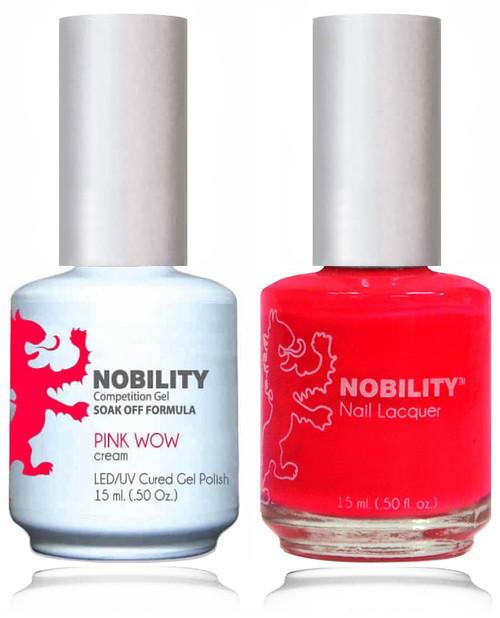 LECHAT NOBILITY Gel Polish & Nail Lacquer Set - pink Wow