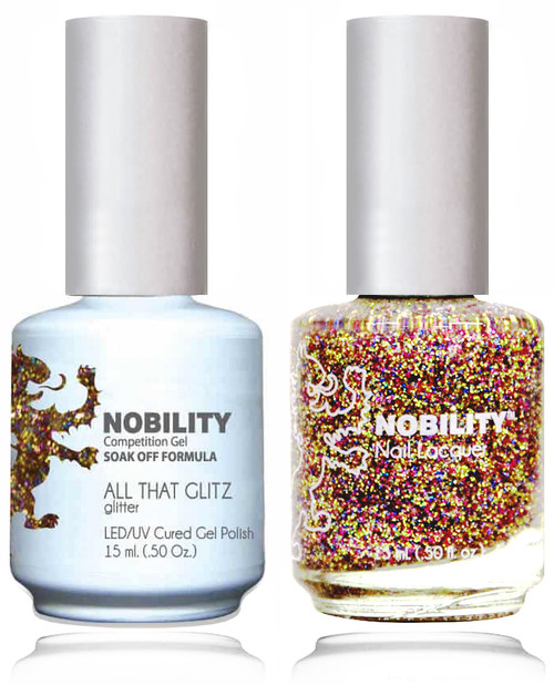 LECHAT NOBILITY Gel Polish & Nail Lacquer Set - All That Glitz