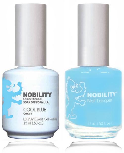 LECHAT NOBILITY Gel Polish & Nail Lacquer Set - Cool Blue