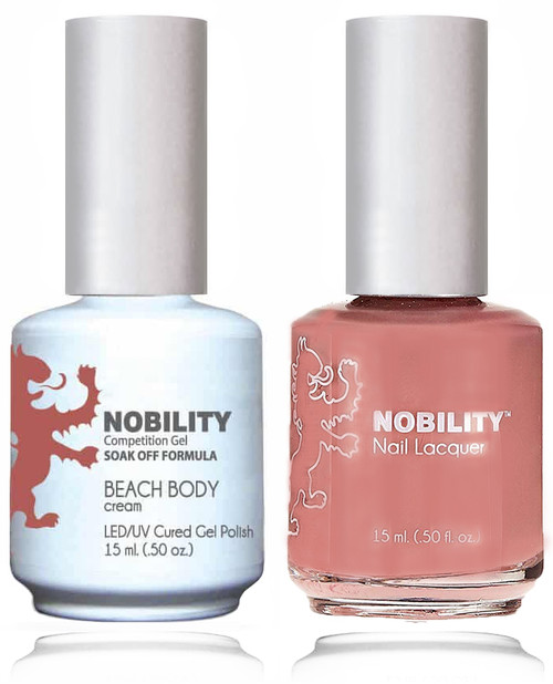 LECHAT NOBILITY Gel Polish & Nail Lacquer Set - Beach Body