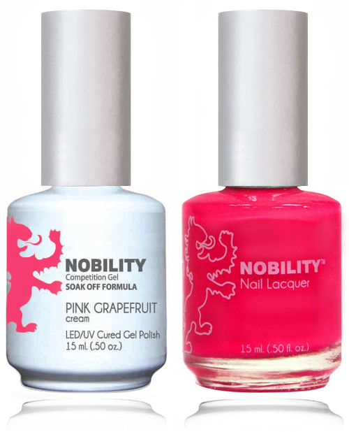 LECHAT NOBILITY Gel Polish & Nail Lacquer Set - Pink Grapefruit