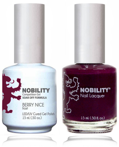 LECHAT NOBILITY Gel Polish & Nail Lacquer Set - Berry Nice