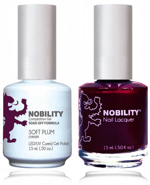 LECHAT NOBILITY Gel Polish & Nail Lacquer Set - Soft Plum