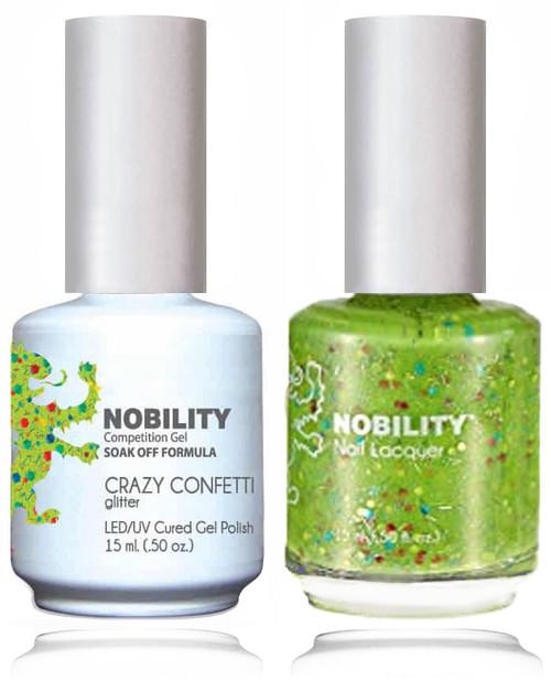 LECHAT NOBILITY Gel Polish & Nail Lacquer Set - Crazy Confetti