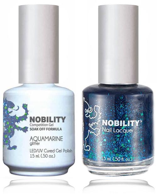 LECHAT NOBILITY Gel Polish & Nail Lacquer Set - Aquamarine