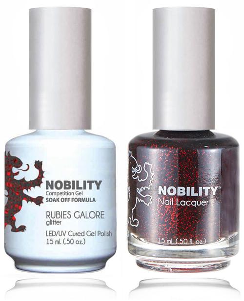LECHAT NOBILITY Gel Polish & Nail Lacquer Set - Rubies Galore