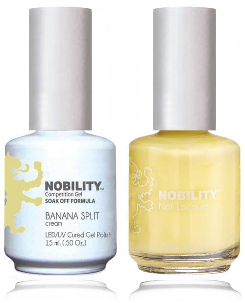LECHAT NOBILITY Gel Polish & Nail Lacquer Set - Banana Split