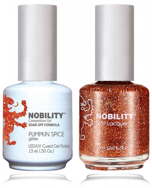LECHAT NOBILITY Gel Polish & Nail Lacquer Set - Pumpkin Spice