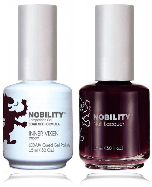 LECHAT NOBILITY Gel Polish & Nail Lacquer Set - Inner Vixen