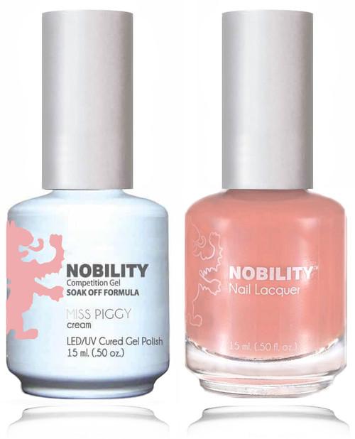 LECHAT NOBILITY Gel Polish & Nail Lacquer Set - Miss Piggy