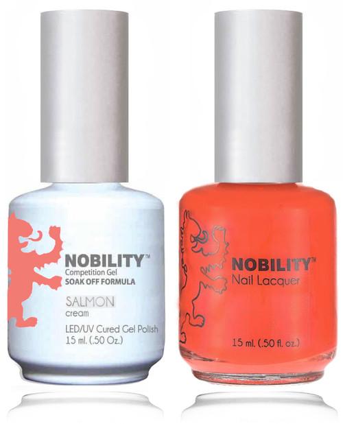 LECHAT NOBILITY Gel Polish & Nail Lacquer Set - Salmon